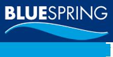 logo blue spring