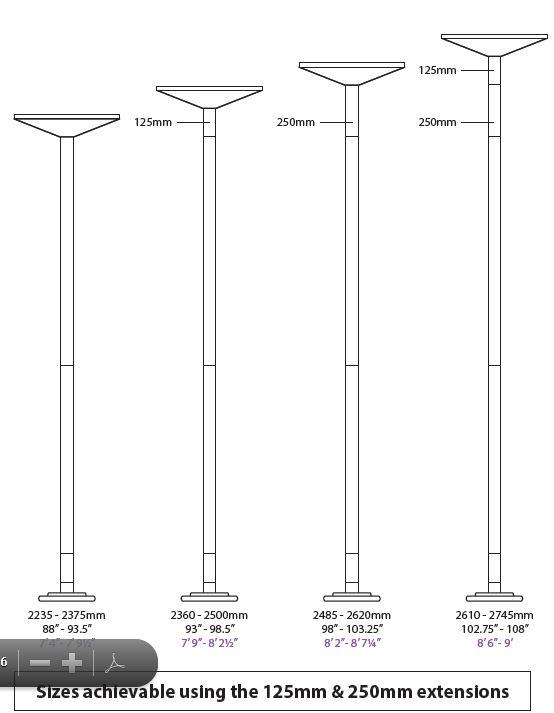 tabella estensioni xpole